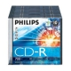 Диск CD-R Philips 700 МБ 52х 10 штук Slim case